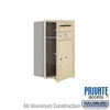 Salsbury 3707S-1PSFP 4C Mailboxes 1 Parcel Locker Front Loading
