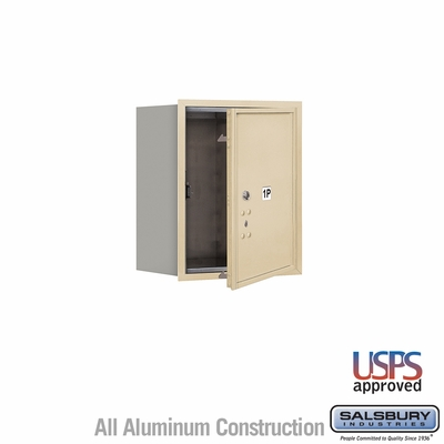 Salsbury 3705S-1PSFU 4C Mailboxes 1 Parcel Locker Front Loading
