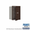 Salsbury 3706S-1PZFP 4C Mailboxes 1 Parcel Locker Front Loading