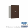 Salsbury 3706S-1PZRP 4C Mailboxes 1 Parcel Locker Rear Loading