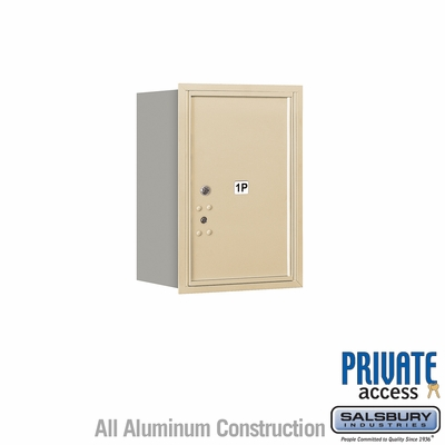 Salsbury 3706S-1PSRP 4C Mailboxes 1 Parcel Locker Rear Loading
