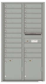 4C Front Loading Horizontal Mailboxes 19 or More Doors