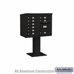 4C Pedestal Mailboxes - 9 to 10 Doors