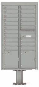 Max Height 4C Pedestal Mailboxes