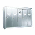 5 Door Surface Vertical Mailboxes