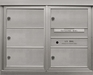 5 Double Height Tenant Doors Front Loading ADA48-DD5 USPS Approved 4C Horizontal Mailboxes