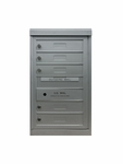6 Single Height Tenant Doors Front Loading Flex-S6 USPS Approved 4C Horizontal Mailboxes