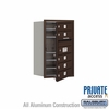 Salsbury 3707S-05ZFP 4C Mailboxes 5 Tenant Doors Front Loading