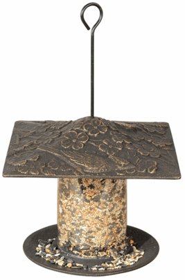 "Whitehall 6"" Cardinal Tube Feeder - Oil Rub Bronze"