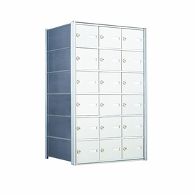 6 Doors High x 3 Doors (18 Tenants) 1500 Horizontal Mailbox Rear-Load