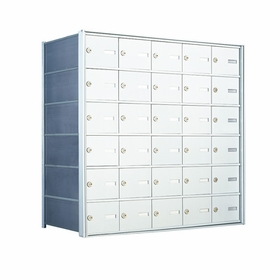6 Doors High x 5 Doors (30 Tenants) 1500 Horizontal Mailbox Rear-Load