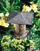 "Whitehall 6"" Dragonfly Tube Feeder - French Bronze"