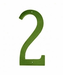 "6"" Standard House Numbers (Choose Color)"