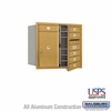 Salsbury 3707D-06GFU 4C Mailboxes 6 Tenant Doors Front Loading