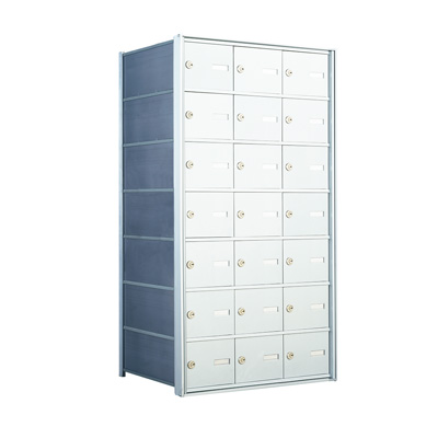 7 Doors High x 3 Doors (21 Tenants) 1500 Horizontal Mailbox Rear-Load