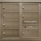 7 Double Height Tenant Doors Front Loading ADA54-DD7 USPS Approved 4C Horizontal Mailboxes