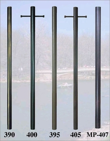 7 foot 12-Sided Aluminum Direct Burial Post