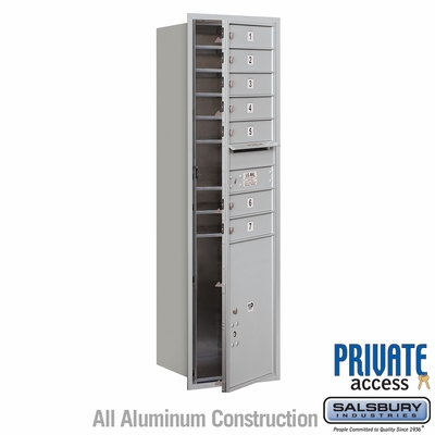 Salsbury 3715S-07AFP 4C Mailboxes 7 Tenant Doors Front Loading