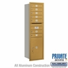 Salsbury 3715S-07GRP 4C Mailboxes 7 Tenant Doors Rear Loading