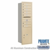 Salsbury 3715S-07SRP 4C Mailboxes 7 Tenant Doors Rear Loading