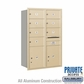 Salsbury 3713D-07SRP 4C Mailboxes 7 Tenant Doors Rear Loading
