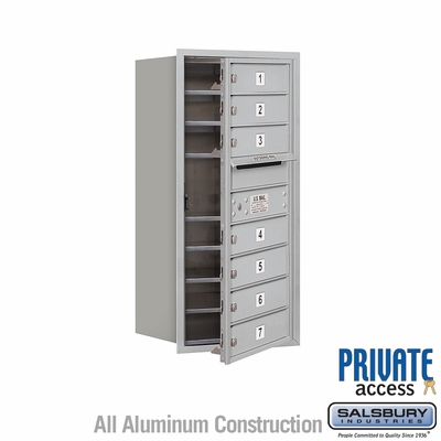 Salsbury 3709S-07AFP 4C Mailboxes 7 Tenant Doors Front Loading