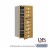 Salsbury 3709S-07GFU 4C Mailboxes 7 Tenant Doors Front Loading