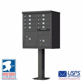 Cluster Mailboxes Dark Bronze