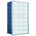 8 Doors High x 3 Doors (23 Tenants) 1600 Front-Load Private Distribution Mailbox
