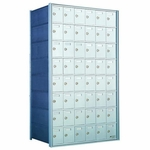 8 Doors High x 6 Doors (48 Tenants) 1700 Horizontal Mailbox Rear-Load Private Distribution