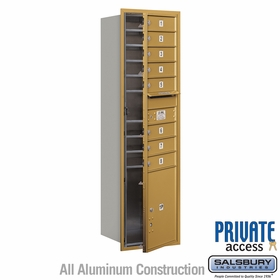 Salsbury 3715S-08GFP 4C Mailboxes 8 Tenant Doors Front Loading
