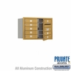 Salsbury 3705D-08GFP 4C Mailboxes 8 Tenant Doors Front Loading