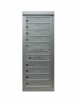 9 Single Height Tenant Doors Front Loading Max-S9 USPS Approved 4C Horizontal Mailboxes