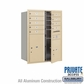 Salsbury 3711D-09SFP 4C Mailboxes 9 Tenant Doors Front Loading