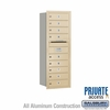 Salsbury 3711S-09SRP 4C Mailboxes 9 Tenant Doors Rear Loading