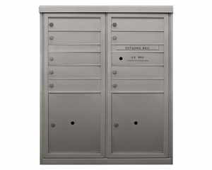Front Loading ADA Compliant Anodized 4C Mailboxes (41 in. High)