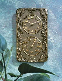 Whitehall Acanthus Combo (Clock/Thermometer)