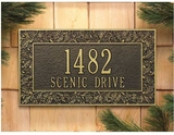 Wall Address Plaques