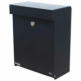 Allux Series Mailboxes Grandform in Black
