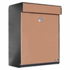 Allux Series Mailboxes Grandform in Black/Copper color