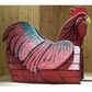 ANIMALS - Rooster Woodendippity Mailbox