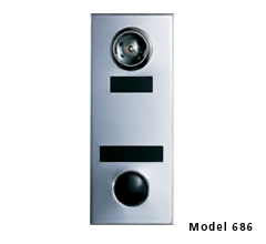 Model 686 Door Chime w/ Bronze Finish