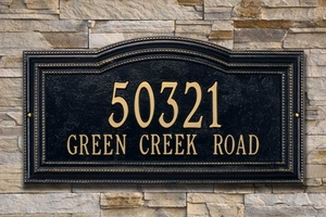 Arbor One Line Estate Wall Plaque - 1766AC