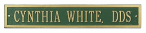 Arch Extension Estate One Line Wall Plaque