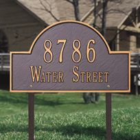Architectural Address Plaques