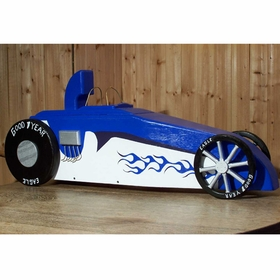 AUTOMOBILES - Dragster Mailbox