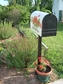 Bacova Gardens 10078 Sitting Black Lab Residential Post Mount Mailbox
