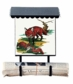 Bacova Gardens 10022 Fox Family Vertical Wall Mounted Mailbox