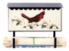Bacova Gardens 10032 Cardinal Dogwood Horizontal Wall Mounted Mailbox