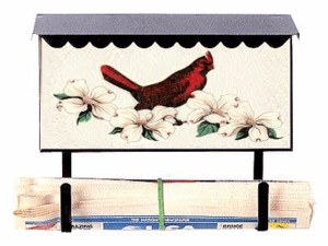 Bluegrass Woods Bird Wildlife Wall Mount Mailboxes